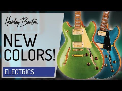 Harley Benton - HB-35Plus - NEW COLORS -