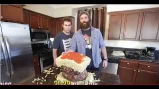The Biggest Pasta Burger In The World Recipe
