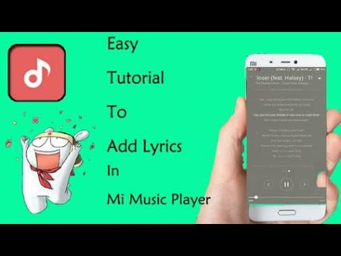 How to add lyrics in MIUI Music Player- |Trendy Geeks|