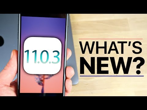 iOS 11.0.3 Released! What's New Review!