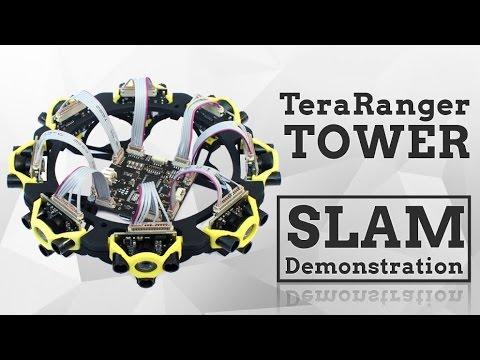 Introducing TeraRanger Tower multi-axis lidar scanner
