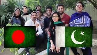 PAKISTANI REACTION ON BANGLADESH SONG BARABARI by MINAR