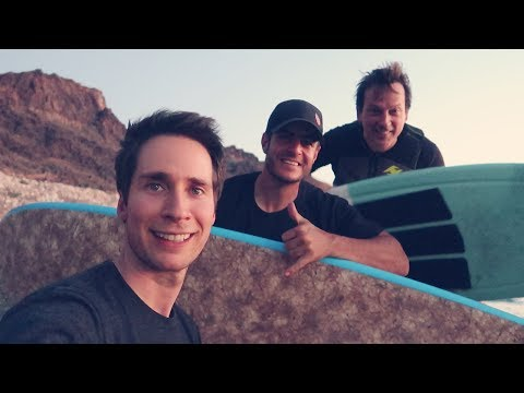 Night surfing on the lake w/ AAD & Phil Laak; poker reset! VLOG S01E20