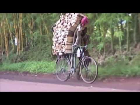 Volunteers deliver used bicycles to Malawi
