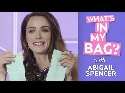 Abigail Spencer: What's In My Bag?
