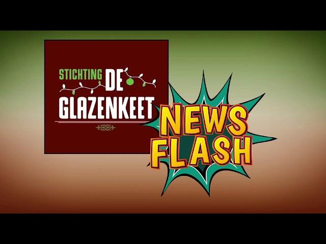 De Glazen Keet 2019 -  Newsflash: maandag 9 december Opbouw Glazen Keet