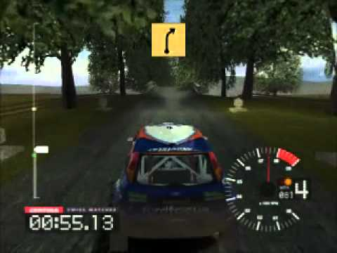 Colin McRae Rally 3: UK Stages 1-4