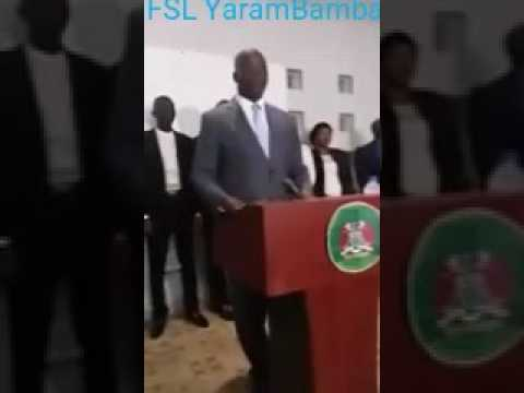 Gambia: Press Conference Held By Minister Of Justice Abubacarr Tambedou