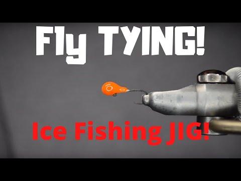 Fly Tying ~ Ice Fishing Jig