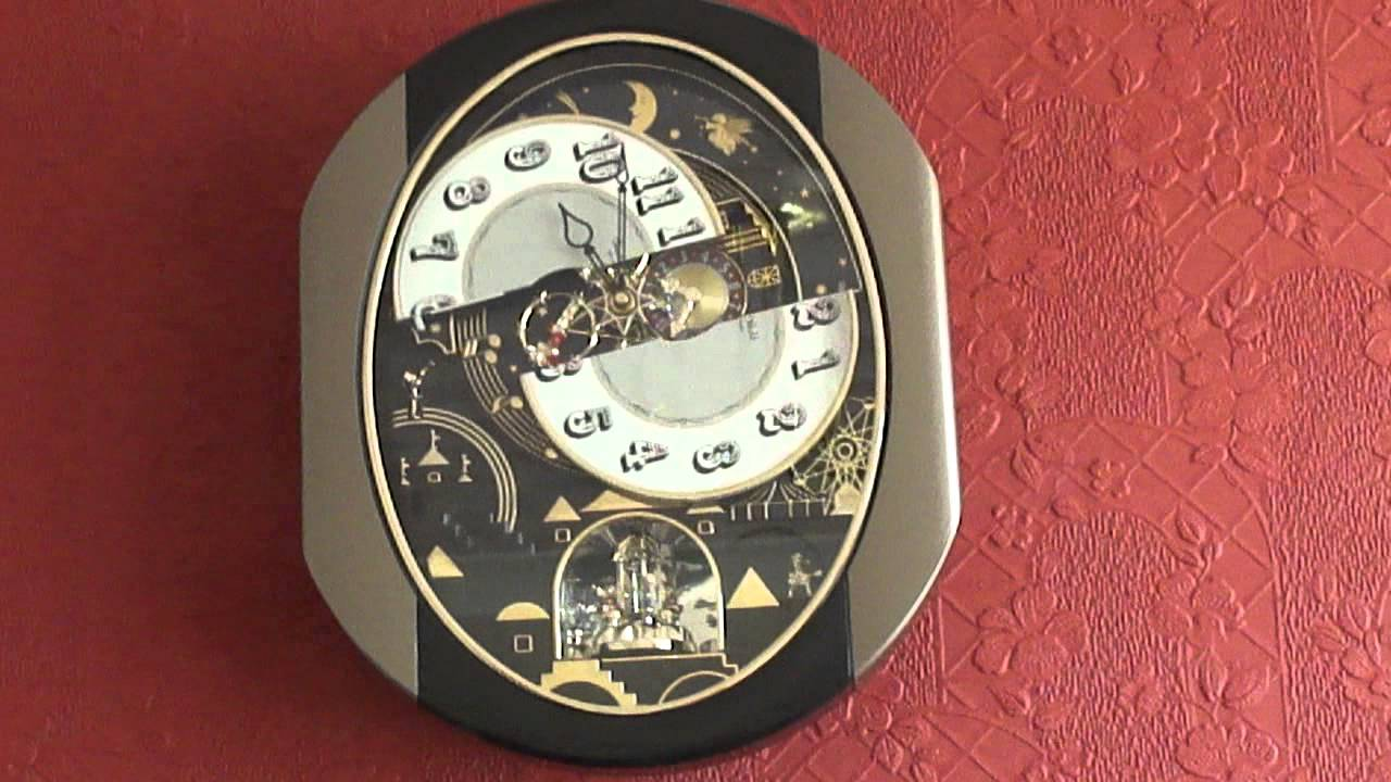 Small world rhythm clock chiming 09012013 youtube amipublicfo Image collections