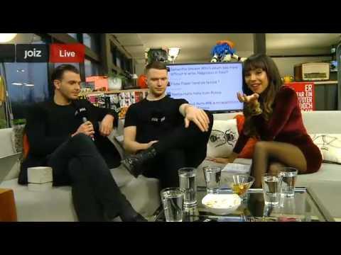 JoizTV - Interview With Hurts (28.02.2013, Switzerland) PART 1