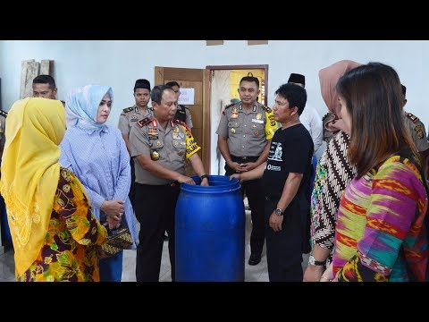Kapolda Lampung dan Kapolres Lambar Kunjungi Ratu Luwak Liwa