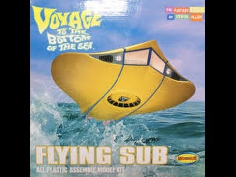 Moebius Models 1/32 Scale Flying Sub