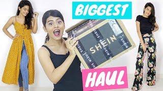 BIGGEST SHEIN HAUL worth ₹17000 for Back To School/ College | Dhwani Bhatt