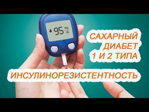 Сахарный диабет 1 и 2 типа, инсулинорезистентность / Другая медицина / Доктор Черепанов