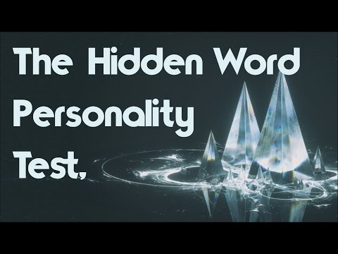 Personality Test: The Hidden Word Will Reveal Your Dominant Trait