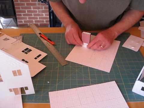 3d home kit complete materials to design build a model for Making hut with waste material