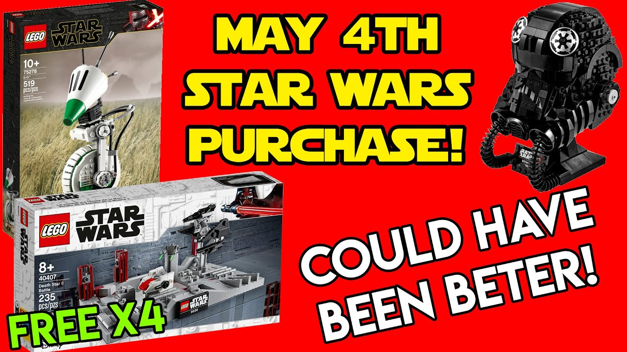 May the 4th Be With You 2020: 'Star Wars' Day Deals at Lego ...