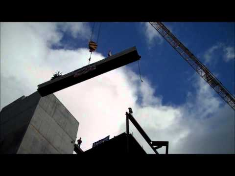 UW Medical Center Topping Out 2-7-11
