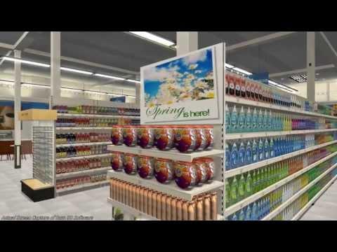 Buzz3D - 3D Planogram Builder and Editor - 1