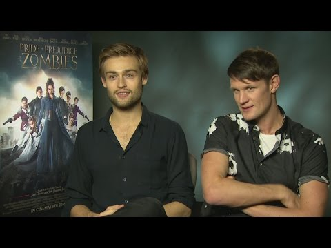 Douglas Booth and Matt Smith on who's grumpy in the mornings