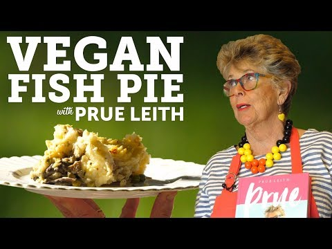 COOKING VEGAN FISH PIE WITH PRUE LEITH | BOSH!