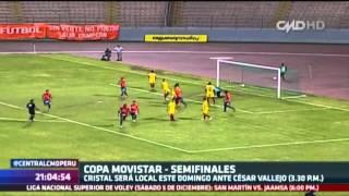 Central CMD: Semifinales arrancan el domingo (Copa Movistar 2015)