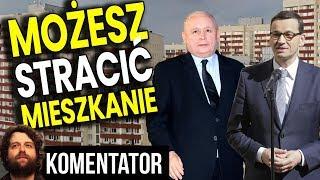 Polacy Stracą Domy i Mieszkania Przez Złe Decyzje Rządu i Banków - Analiza Komentator Pieniądze PL