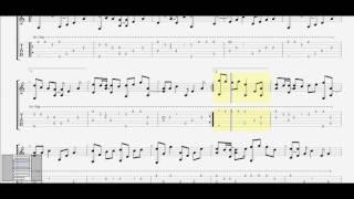 Cho em gần anh thêm chút nữa (Hương Tràm(Am)) ST: Tăng Nhật Tuệ guitar solo tab by D U Y