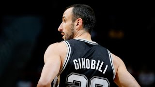 Manu Ginobili Spurs 2015 Season Highlights Part2