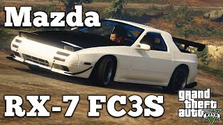 grand theft auto v pc mods mazda rx 7 fc3s download gta v pc