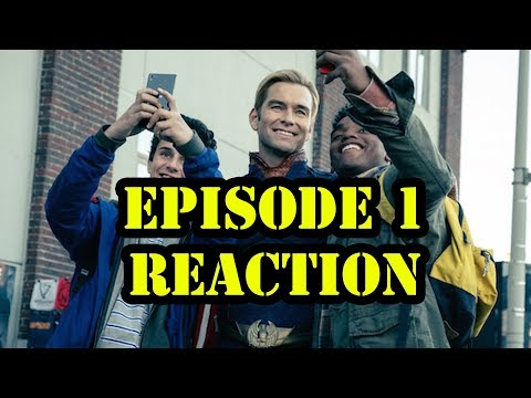 THE BOYS EPISODE 1 REACTION | THIS SHOW IS FIRE !!!