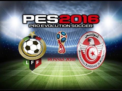PES 2016 Gameplay Libya vs Tunisia