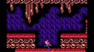 Contra - Nintendo NES - Alien