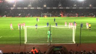 Lionel Messi Penalty at Upton Park, Argentina vs   Croatia