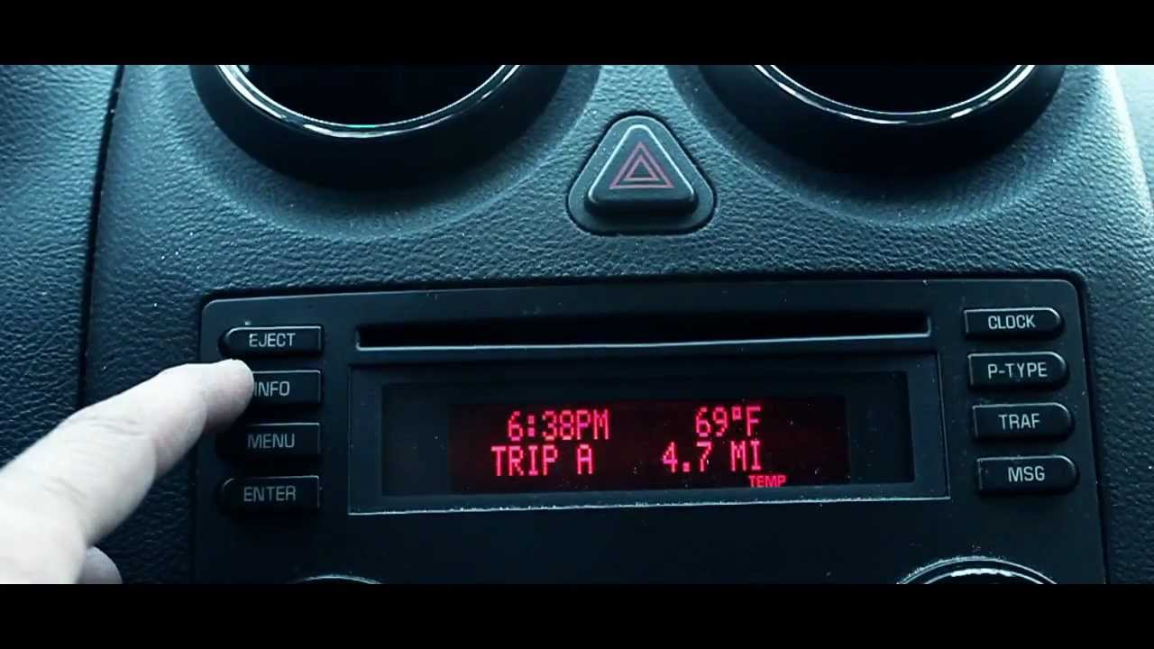 Pontiac G6 Oil Reset Display  YouTube