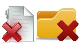 حل مشكلة حذف الملفات المستعصية نهائيا بدون برنامج