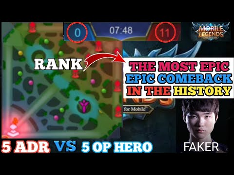 THE BEST EPIC COMEBACK IN THE HISTORY OF MOBILE LEGENDS