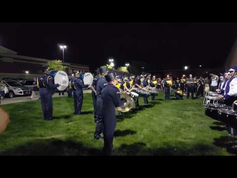 Barberton High School and Copley High School Battle of the Drums 9/16/2016