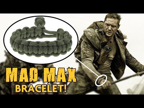 1:6 scale action figure Mad Max paracord bracelet