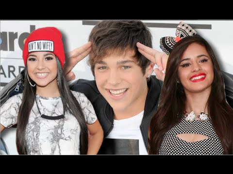 Camila Cabello and Austin Mahone