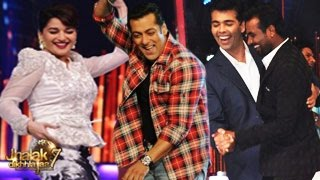 Salman Khan on Jhalak Dikhhla Jaa 7 19th July 2014 FULL EPISODE HD -- Salman Madhuri CHEMISTRY