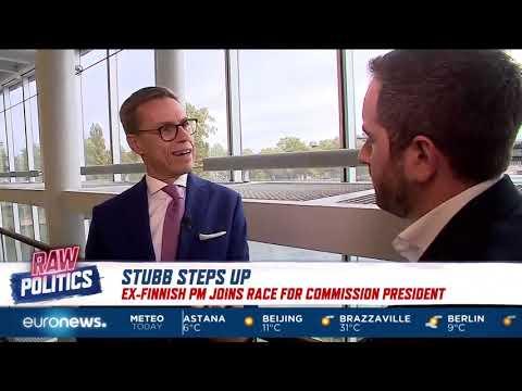 Political Editor Darren McCaffrey interviews Alexander Stubb
