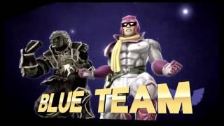 Slot Car Smash 1 - Brole (Mario, Lucas, DK, Toon Link) VS Bigg & Grigg (Falcon, Ganon) SSB4