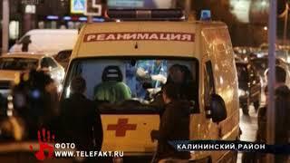 Иномарка на огромной скорости влетела в маршрутку в центре Челябинска
