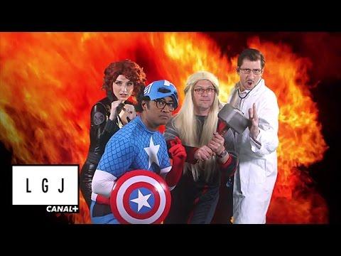 Les Avengers - La météo du Grand Journal