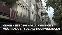 Gemeenten klem tussen wachtlijst sociale huur en huisvesting vluchtelingen