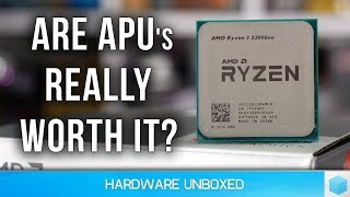 Ryzen 2200G & 2400G vs. Core i3-8100 with Second Hand Graphics Cards