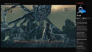 Bloodborne Boss Fight #8 - Amygdala (Optional) #Bloodborne