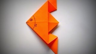 Origami - How To Make An Angelfish